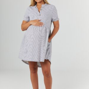 Pregnancy and nursing baby doll dress Santorini by Legoe