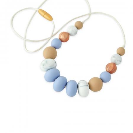 Silicone Nursing Necklace Baby Shower Gift